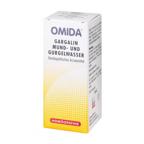 OMIDA Gargalin Mund- und Gurgelwasser Fl 60 ml
