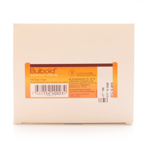 BULBOID Supp Erw 100 Stk