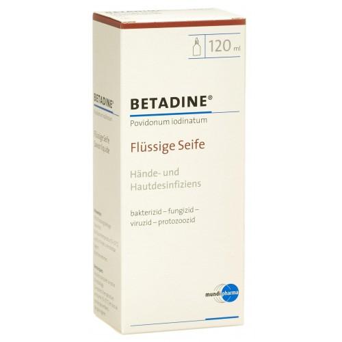 BETADINE Seife liq 120 ml