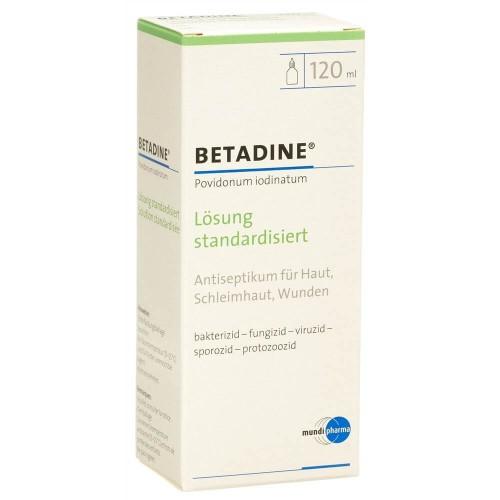 BETADINE Lösung standardisiert Fl 120 ml