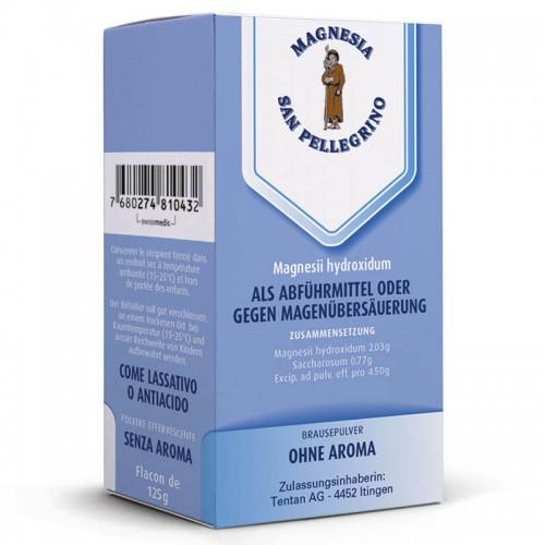 MAGNESIA S PELLEGRIN Brause Plv ohne Aroma 125 g