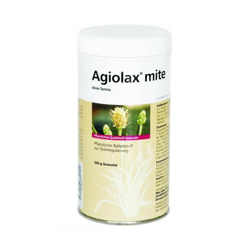 AGIOLAX mite ohne Senna Gran Ds 250 g