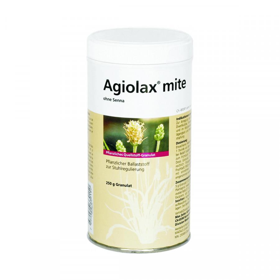 Hier sehen Sie den Artikel AGIOLAX mite ohne Senna Gran Ds 250 g aus der Kategorie Medikamente der Liste D. Dieser Artikel ist erhältlich bei apothekedrogerie.ch
