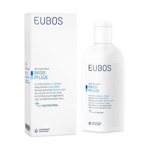EUBOS Seife liq unparf blau (alt) Fl 200 ml