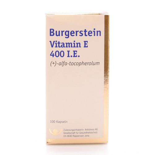BURGERSTEIN Vitamin E Kaps 400 E 100 Stk