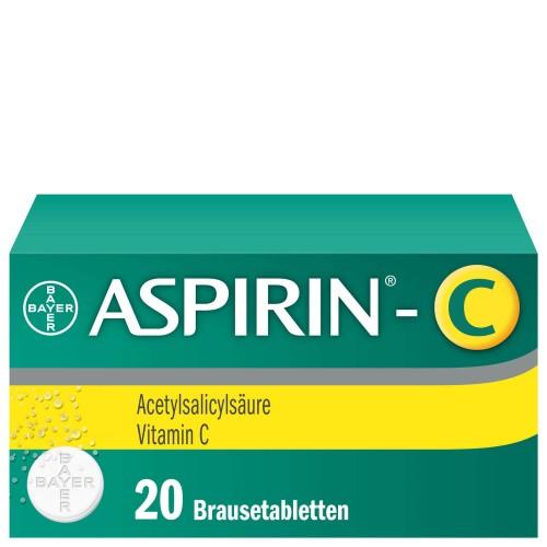 ASPIRIN C Brausetabl 20 Stk