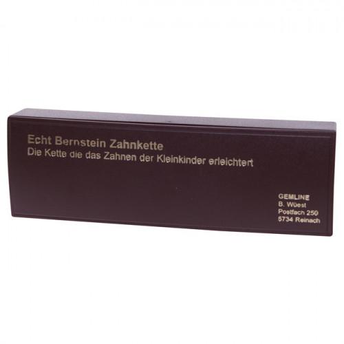 KERN Echt Bernstein Kugelkette 8mm/35cm Bébé