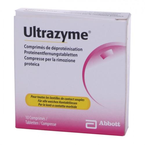 ULTRAZYME Proteinentfernung Tabl Blist 10 Stk