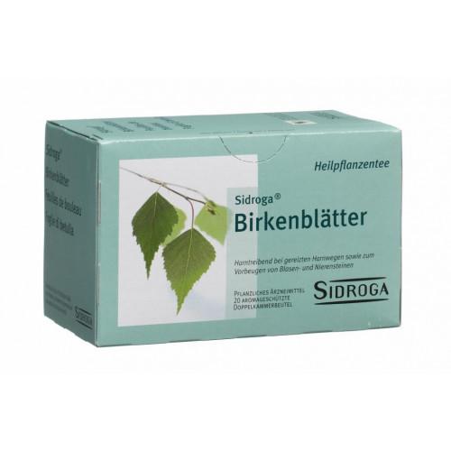 SIDROGA Birkenblätter 20 Btl 1.5 g