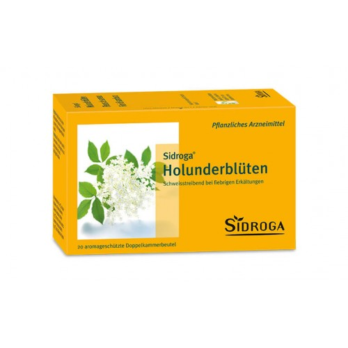 SIDROGA Holunderblüten 20 Btl 1 g