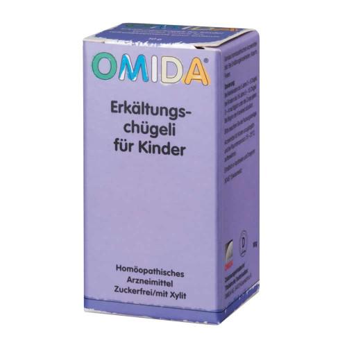 OMIDA Erkältungschügeli für Kinder o Zuck Fl 10 g