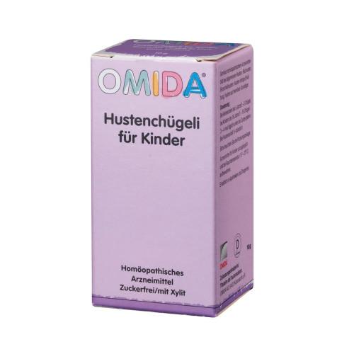 OMIDA Hustenchügeli für Kinder o Zucker Fl 10 g