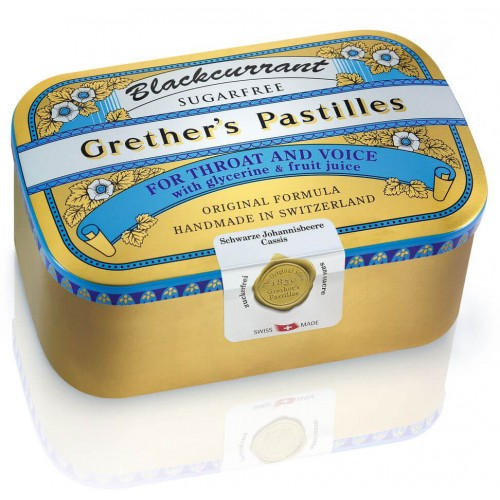 GRETHERS Blackcurrant Past ohne Zucker Dose 440 g