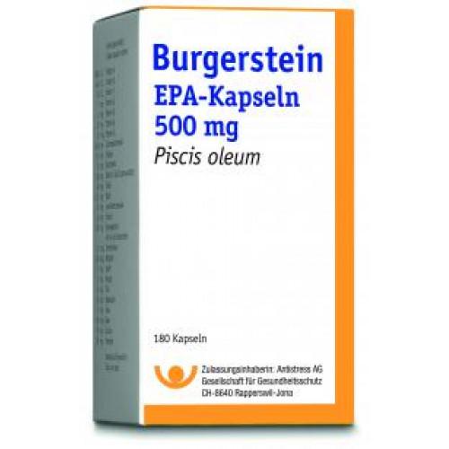 BURGERSTEIN EPA Kaps 500 mg Ds 180 Stk