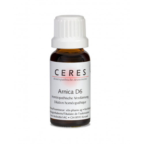 CERES Arnica D 6 Dilution Fl 20 ml