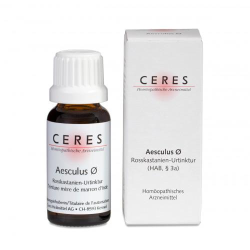 CERES Aesculus Urtinkt Fl 20 ml