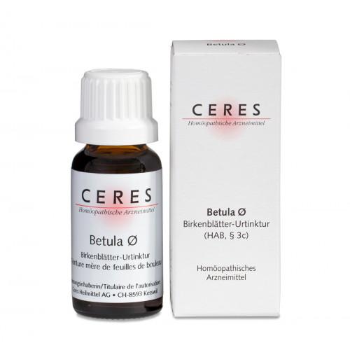 CERES Betula folium Urtinkt 20 ml