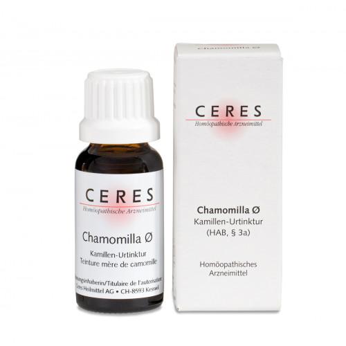 CERES Chamomilla Urtinkt Fl 20 ml