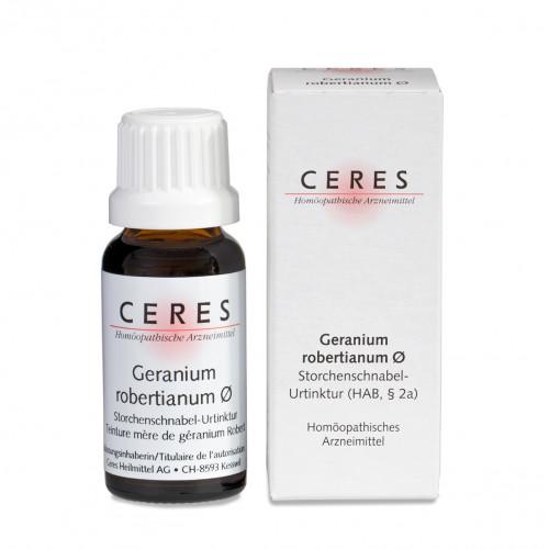 CERES Geranium robertianum Urtinkt Fl 20 ml