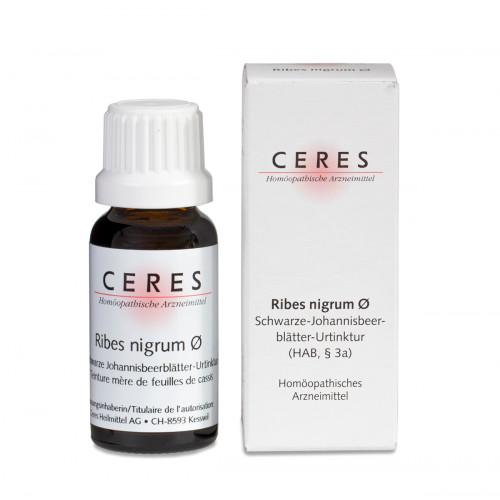CERES Ribes nigrum folium Urtinkt 20 ml