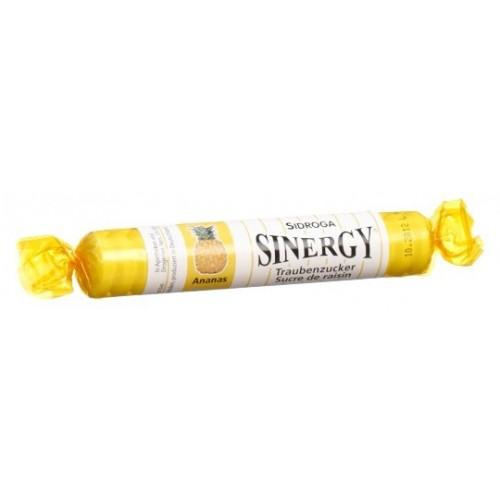SINERGY Traubenzucker Ananas Rolle 40 g