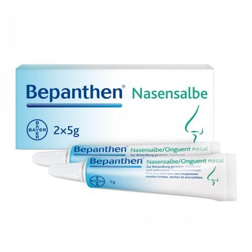 BEPANTHEN Nasensalbe 5 % 2 Tb 5 g