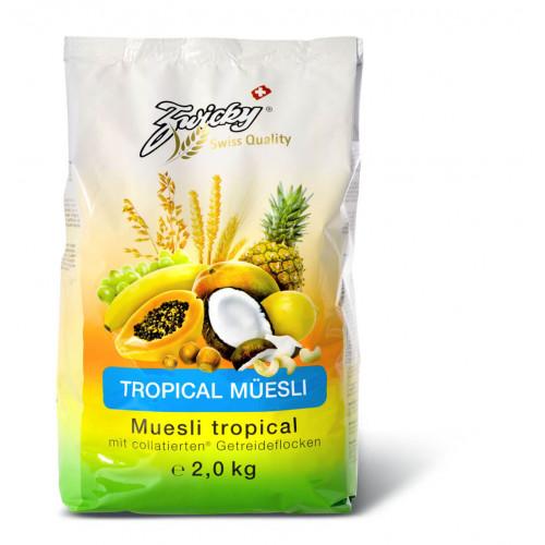 ZWICKY Tropicalmüesli 750 g