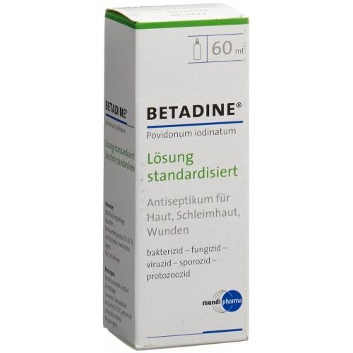 BETADINE Lösung standardisiert Fl 60 ml