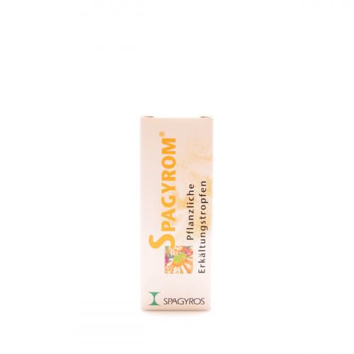 SPAGYROM Pflanzliche Erkältungstropfen 50 ml