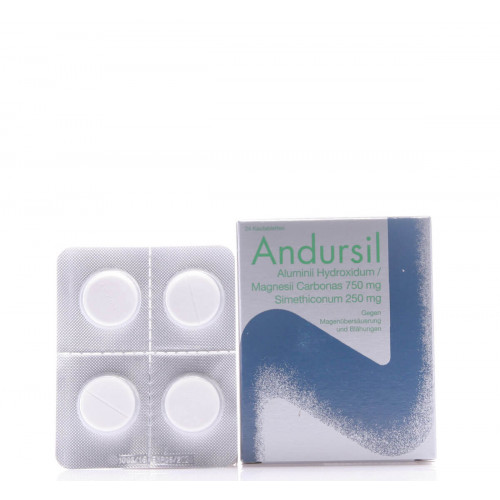 ANDURSIL Kautabl 24 Stk