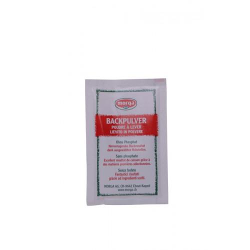 MORGA Backpulver ohne Phosphat Btl 22 g