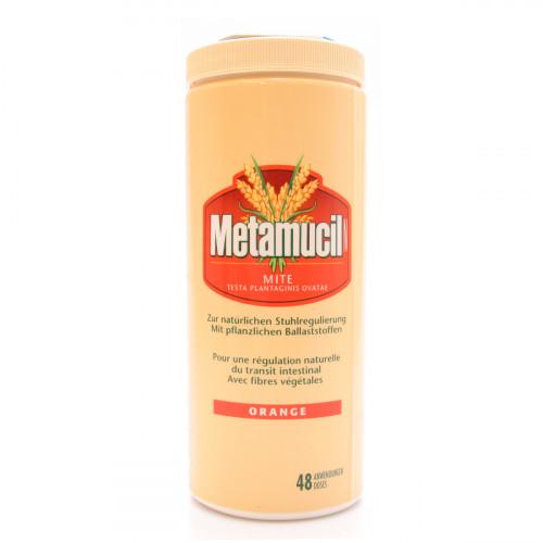 METAMUCIL N Mite Plv orange Ds 283 g