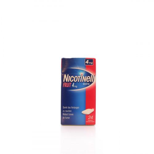 NICOTINELL Gum 4 mg fruit 24 Stk