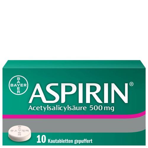 ASPIRIN Kautabl 500 mg 10 Stk