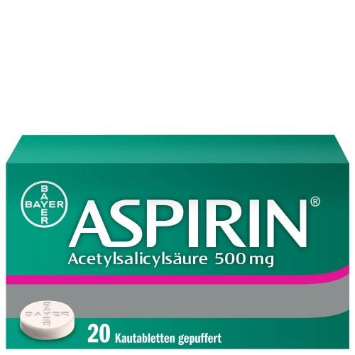 ASPIRIN Kautabl 500 mg 20 Stk