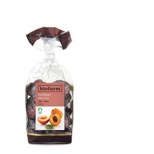BIOFARM Aprikosen süss sauer Knospe Btl 250 g