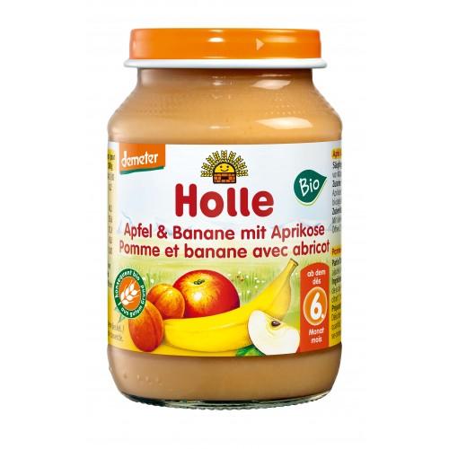 HOLLE Apfel Banane Aprikose Bio 190 g