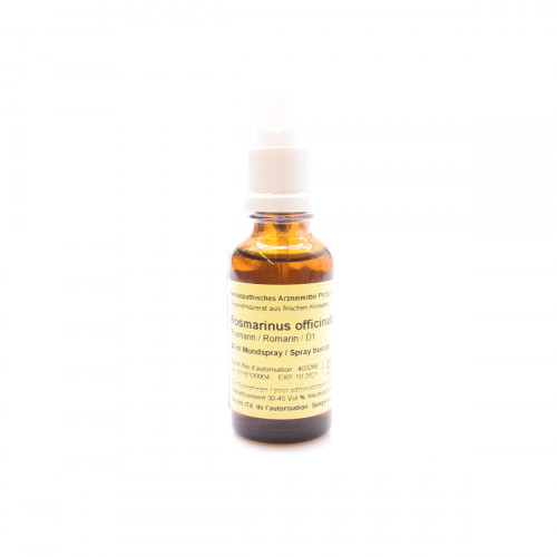 SPAGYROS GEMMO Rosmarinus off Glyc Maz D 1 30 ml