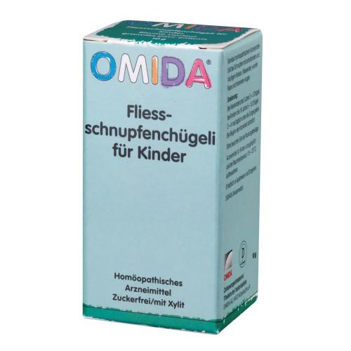 OMIDA Fliessschnupfenchügeli für Kinder Fl 10 g