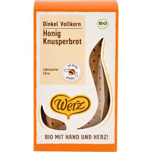 WERZ Dinkel Honig Knusperfladen Demeter 150 g