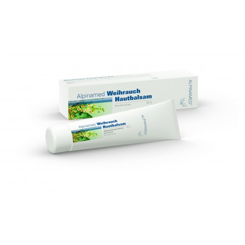 ALPINAMED Weihrauch Hautbalsam Tube 100 ml