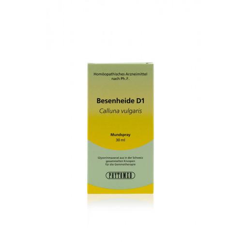 PHYTOMED GEMMO Besenheide liq D 1 Spr 30 ml