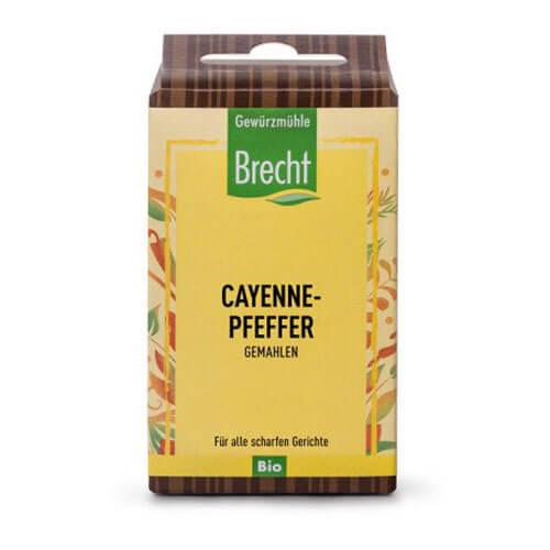 BRECHT Cayennepfeffer gemahlen Bio refill Btl 35 g