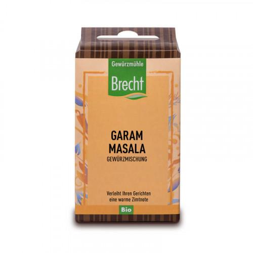 BRECHT Garam Masala gemahlen Bio refill Btl 40 g