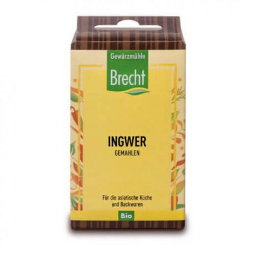 BRECHT Ingwer gemahlen Bio refill Btl 25 g