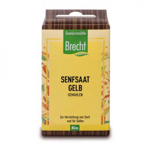 BRECHT Gelbe Senfsaat gemahlen Bio refill Btl 35 g
