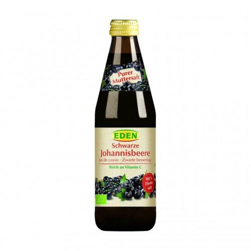 EDEN Cassis Muttersaft o Zucker pur Bio Fl 330 ml
