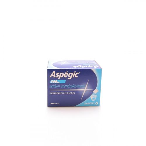 ASPEGIC Plv 500 mg Btl 20 Stk