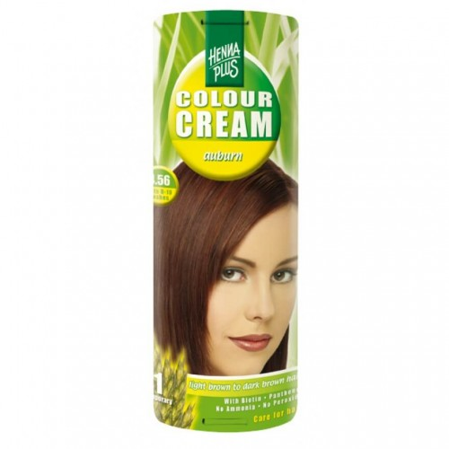 HENNA PLUS Colour Cream 4.56 kastanienbraun 60 ml