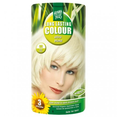 HENNA PLUS Long Last Colour 00 ultra blond